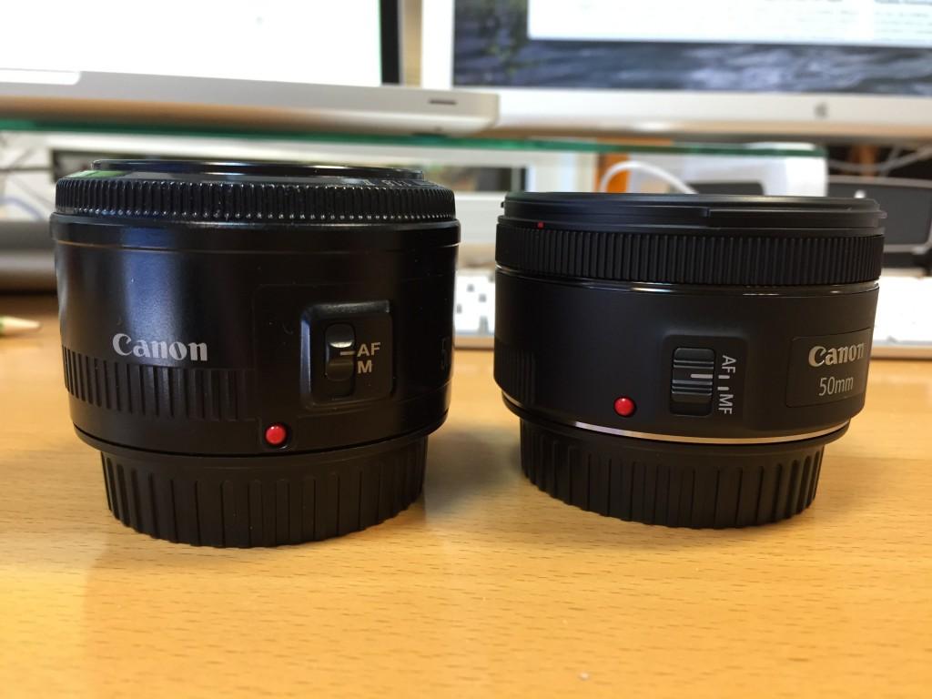 Altes und neues 50mm 1.8
